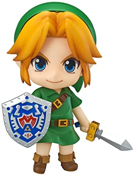 Good Smile The Legend of Zelda: Majoras Mask 3D Link Nendoroid Action Figure