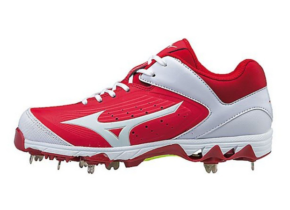 Mizuno Women's Swift 5 Fastpitch Cleat Softball Shoe B071WBKBKW 5 B(M) US|Red/White