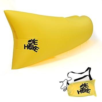 OYE HOYE 2nd Generation hinchable tumbona playa Sacos de dormir interiores y exteriores colchones de aire