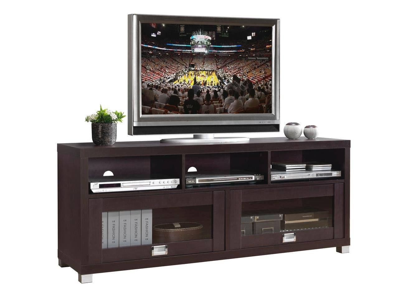 Foto Mobili Tv.Techni Mobili Durbin Tv Cabinet For Tvs Up To 65 Espresso