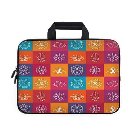 Amazon.com: Yoga Laptop Carrying Bag Sleeve,Neoprene Sleeve ...