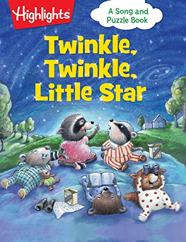 Twinkle, Twinkle, Little Star (Highlights Song and Puzzle Books) -