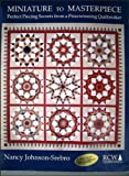 img - for Miniature to Masterpiece: Perfect Piecing Secrets from A Prizewinning Quiltmaker book / textbook / text book