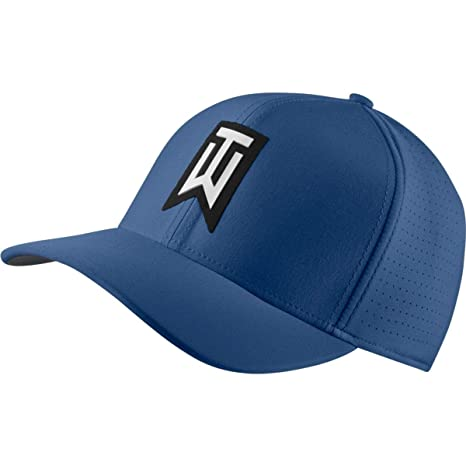 b00583e3 Nike TW AeroBill Classic 99 Performance Golf Cap 2018 (Gym  Blue/Anthracite/White