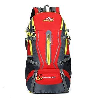 Gaorb Borsa da Trekking 45L Zaino Impermeabile Zaino Sportivo Zaino Sportivo Escursionismo Campeggio Pesca Turismo Equitazione Uomini e Donne Borsa da Passeggio ( Color : Red )