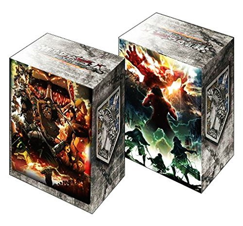 Attack On Titan Trading Card Game Character Deck Box Case Holder Anime Vol 254 from Bushiroad