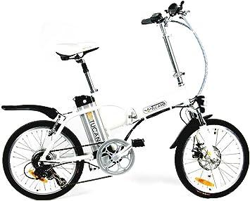 TUCANO DE LUXE - Bicicleta eléctrica deportiva (Motor 250W - 36V ...