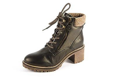 Tamaris Damen Stiefeletten Schwarz Schuhe, Größe:37