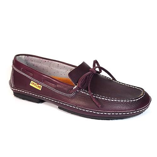 Zapatos Apache LA Valenciana OLIVENZA Burdeos - Color - Burdeos, Talla - 34
