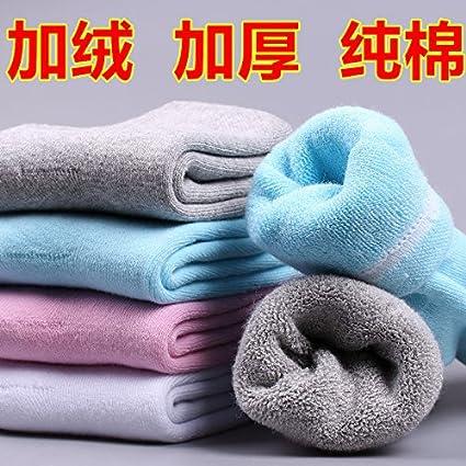 Invierno niñas gruesos calcetines de algodón puro terciopelo más cálido, y una toalla calcetines calcetines de algodón para la anciana madre ? ...