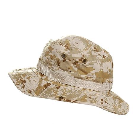 MerryBIY Sun-Cappello da Pescatore per Bush Versione Militare 34a89871c9ff