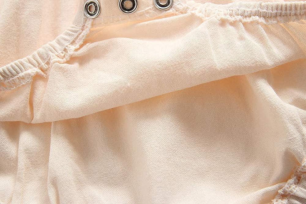 Sombrero Conjuntos 2pcs Piezas 0~24 Meses Mitlfuny Invierno Oto/ño Peleles Monos Bebe Recien Nacido Ni/ños Ni/ñas Costura Mameluco de Manga Larga Color S/ólido Encaje Cosiendo Caliente Gatear Ropa Tops