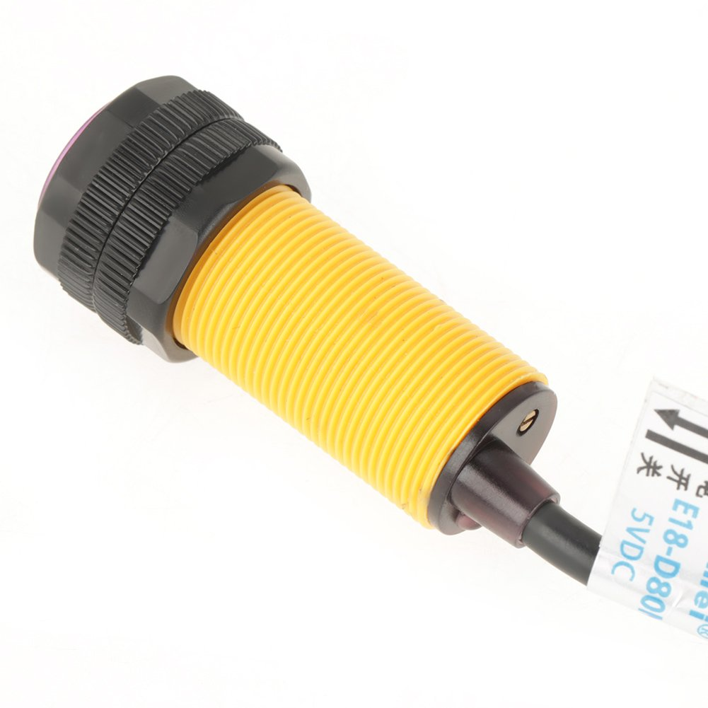 interruptor de sensor de detecci/ón de evitaci/ón de obst/áculos por infrarrojos ajustable E18-D80NK Interruptor de sensor de infrarrojos