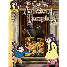 The Curse of the Ancient Temple - India: Educational adventure story for kids (Keiko Kenzo STEM Travel Adventure Series Book 3)