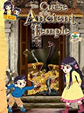 The Curse of the Ancient Temple - India: Thrilling adventure story for kids 6-12 years (Keiko and Kenzo Travel Adventure Series Book 4)