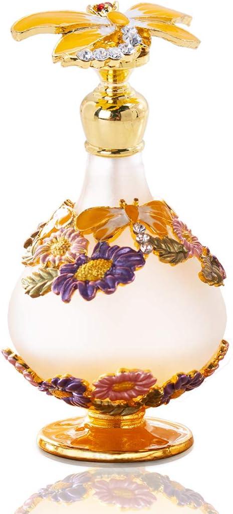 YU FENG - Botella de Perfume vacía con Estatua de Animales voladores (25 ml)