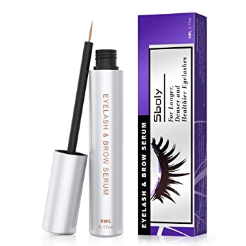 820c2e0d86b Eyelash Growth Serum, 100% Natural Lash Brow Enhancer, Lash Enhancing Serum  for Boost