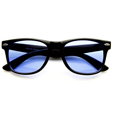 Amazon.com: zeroUV – anteojos Clásicas de Carey con lentes ...