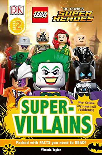 DK Readers L2: LEGO DC Super Heroes: Super-Villains (DK Readers Level 2) -