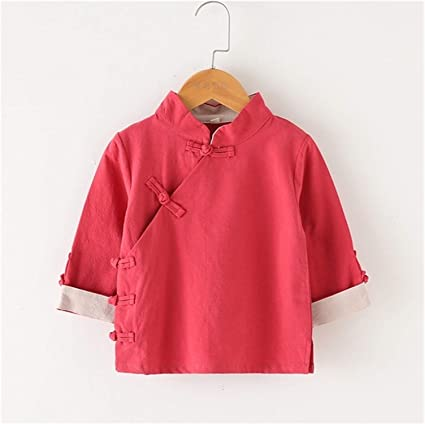 Youpin Camisa azul para niños con viento chino, ropa para ...