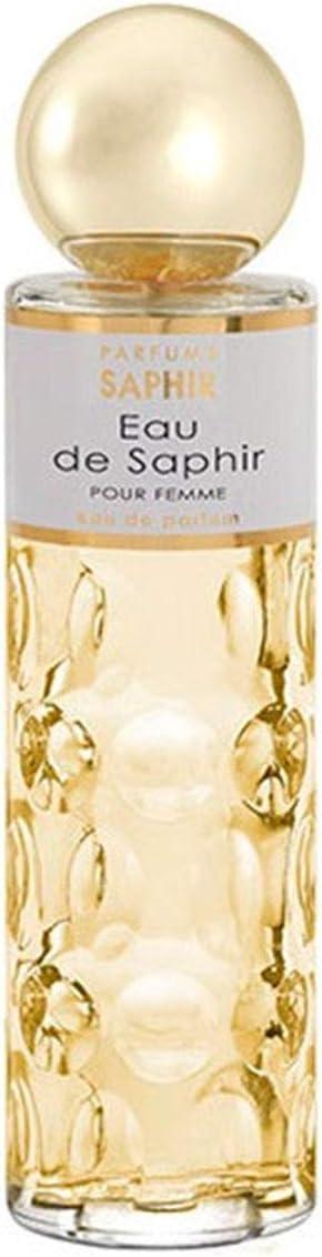 PARFUMS SAPHIR Eau de Saphir - Eau de Parfum con vaporizador para Mujer - 200 ml