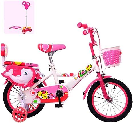 ZCRFY Bicicleta para Niños Chica Estudiantes Comodidad Ajustable ...
