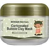ROPALIA Bulles d'oxygène Masque de Boue Hydratant Eclaircissant Crème Masque nettoyage en profondeur.