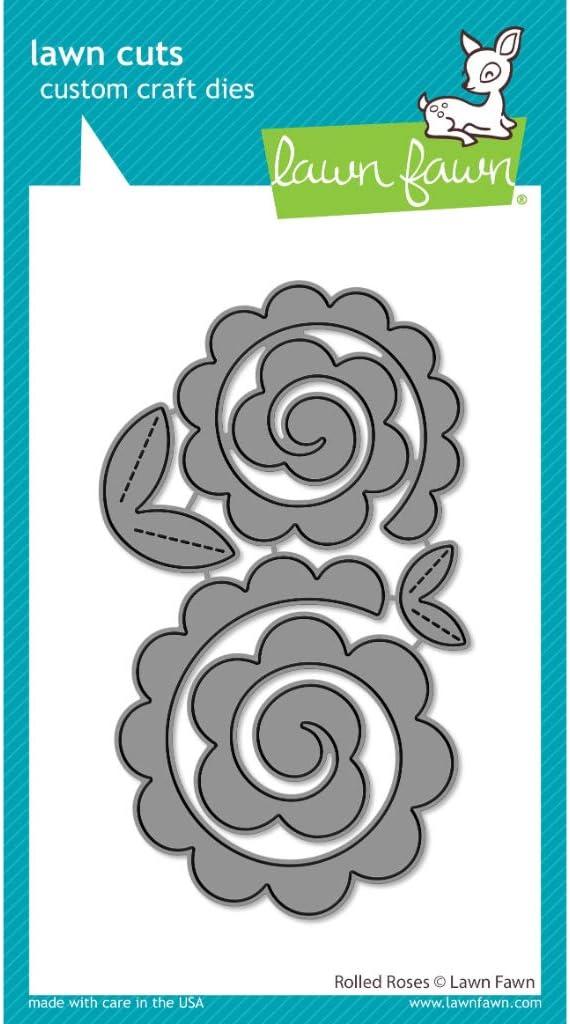 LF2259 Lawn Fawn Rolled Roses Custom Die