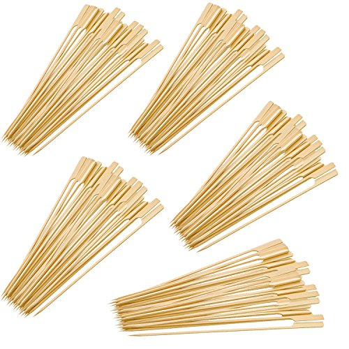 Ezee Bamboo Gun Skewers - 5 Inches (500 Pieces)