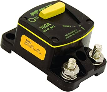 100 Amp electronic consumer STINGER SCBM100 Marine Circuit Breaker