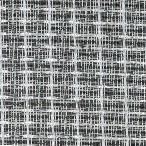 Speaker Grill Cloth Fabric Black/White/Silver Yard 36