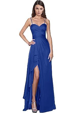 45a671ac8d8 Victory Bridal Damen Glamour Abendkleider Lang Chiffon Brautjungfernkleider  Prom Ballkleider Partykleider  Amazon.de  Bekleidung