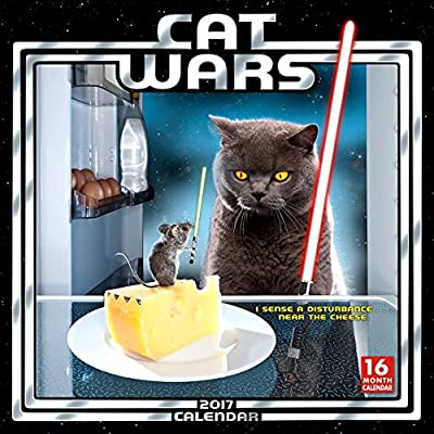 Cat Wars 2017 Wall Calendar