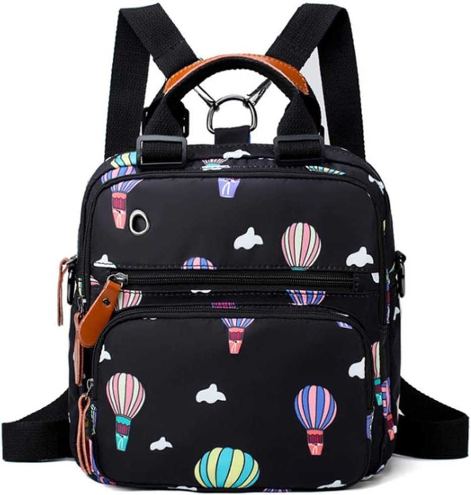 Baby Diaper Bag Multi-Function Baby Nappy Back Pack,Changing Bag Backpack Black-Rhombic