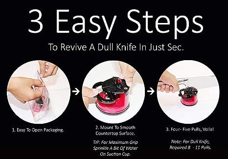 Amazon.com: Afilador de cuchillos SunrisePro, patentado en ...