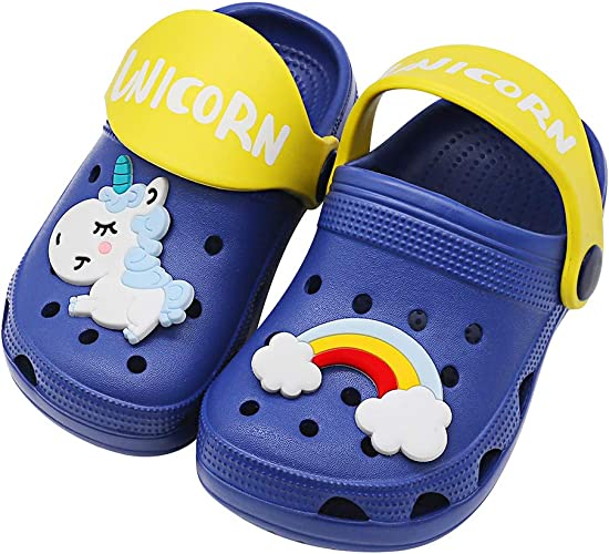 Little Kid//Big Kid Girls Boys Shower Sandals Non-Slip Indoor Shower Slides Sandals