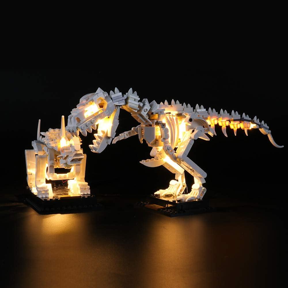 Led Light kit For IDEAS Dinosaur Fossils LEGO 21320 building blocks kit Dinosaur