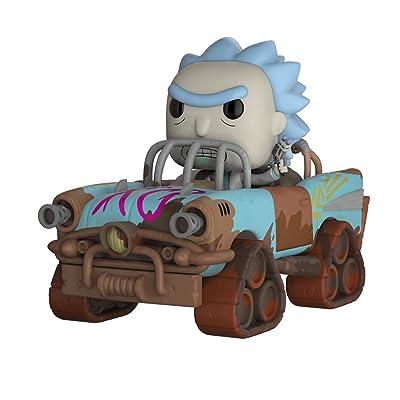 Funko Pop! Rides: Rick & Morty - Mad Max Rick Collectible Figure: Funko Pop! Rides:: Toys & Games