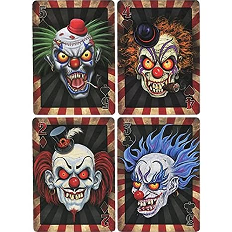 Amazon.com: Bicicleta Psycho Clowns Juego de cartas (edición ...