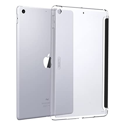 info for 57198 43f7c ESR Case for iPad 9.7 2018/2017, Clear Hard Case [Perfect Match with Smart  Keyboard] [Lightweight] Slim Fit Back Shell Cover for iPad 9.7 inch iPad ...