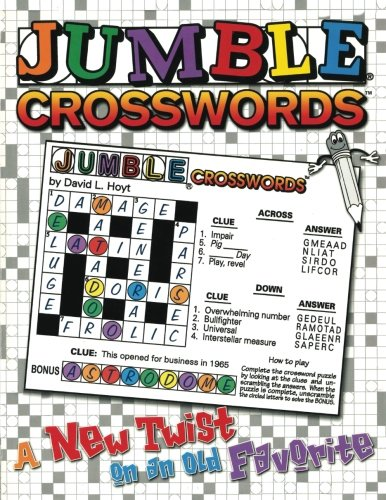 Jumble Crossword Puzzles (Jumble® Crosswords™: A New Twist on an Old Favorite (Jumbles®))