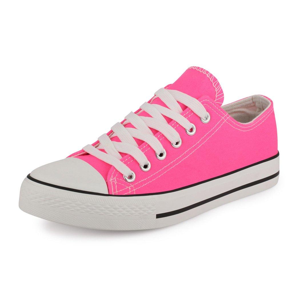 best-boots Damen Turnschuh New Sneaker Slipper Halbschuhe sportlich New Turnschuh Pink e0c3c5