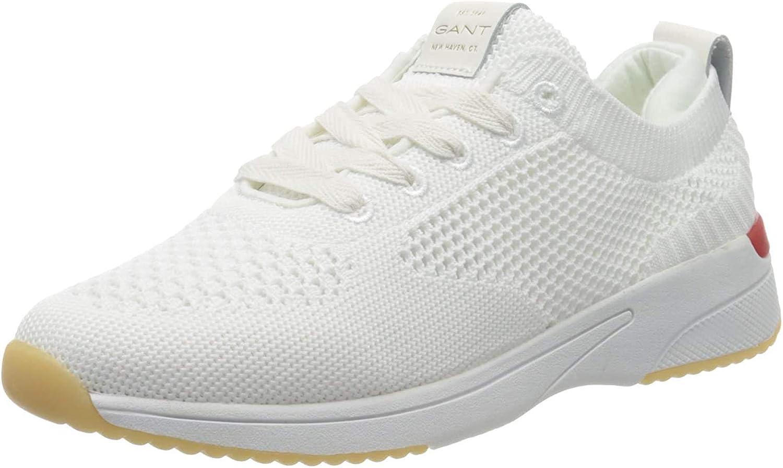 GANT Delyn, Sneakers Basses Femme Blanc Off White G20