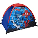 Amazon Com Marvel Spiderman Bed Tent With Pushlight Toys