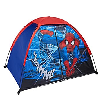 Marvel Ultimate Spider-man Kids Play Tent - 4u0027 ...  sc 1 st  Amazon.com : spider man tents and playhouses - memphite.com