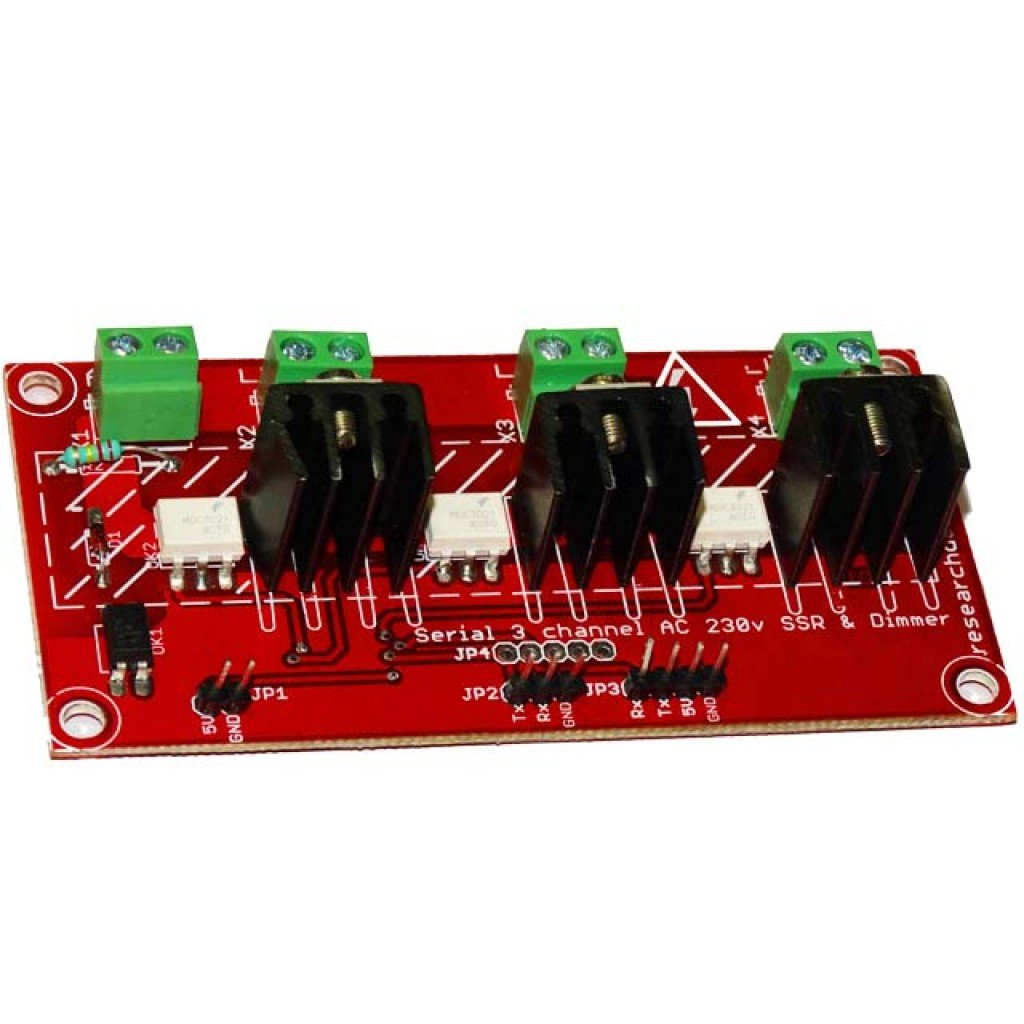 Serial 3 Channel Ac 230v Ssr And Dimmer For Arduino Raspberry Topic Solid State Relay Uno Read 2938 Times Pi 110 220v 50hz 60hz Iot Projects Welcome
