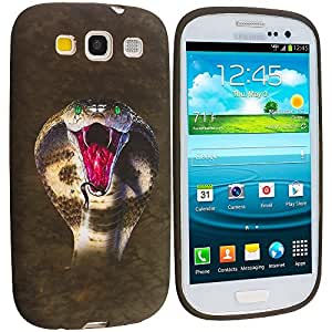 Accessory Planet(TM) Kobra Snake TPU Design Soft Rubber Case Cover Accessory for Samsung Galaxy S III S3 wangjiang maoyi