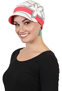 41766634095 Chemo Hats for Women Cancer Headwear Headcoverings Cute Baseball Caps Cotton