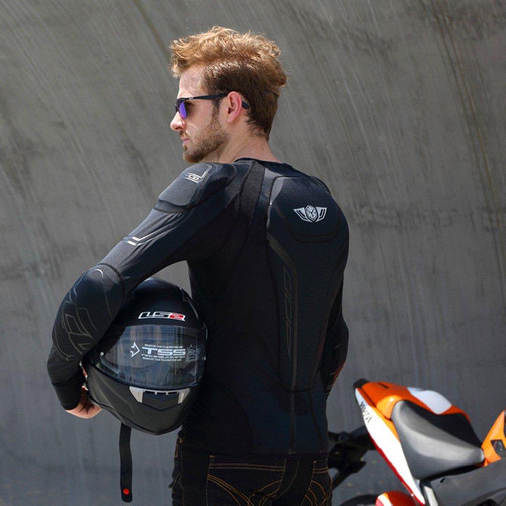 Scoyco AM03 Men's Motorcycle Motocross Racing Protective Gear Jacket Armor (L) by SCOYCO (Image #6)