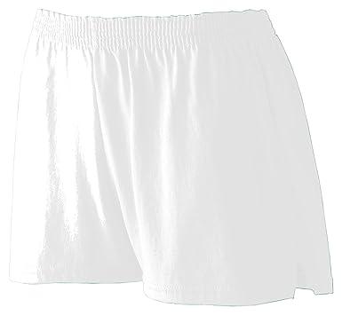 e7ed98c0b262 Amazon.com  Augusta Sportswear Big Girl s Trim Fit Jersey Short  Clothing